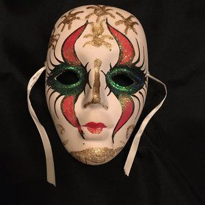 Other - Handpainted Ceramic Mask
